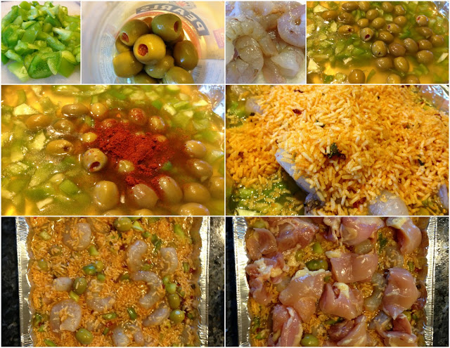 How to make Paella picture tutorial with recipe