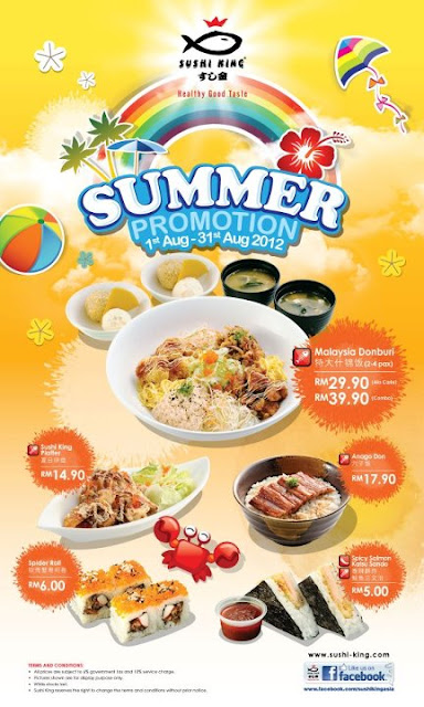 292300 407172402672651 98631898 n SUMMER PROMOTION WITH SUSHI KING