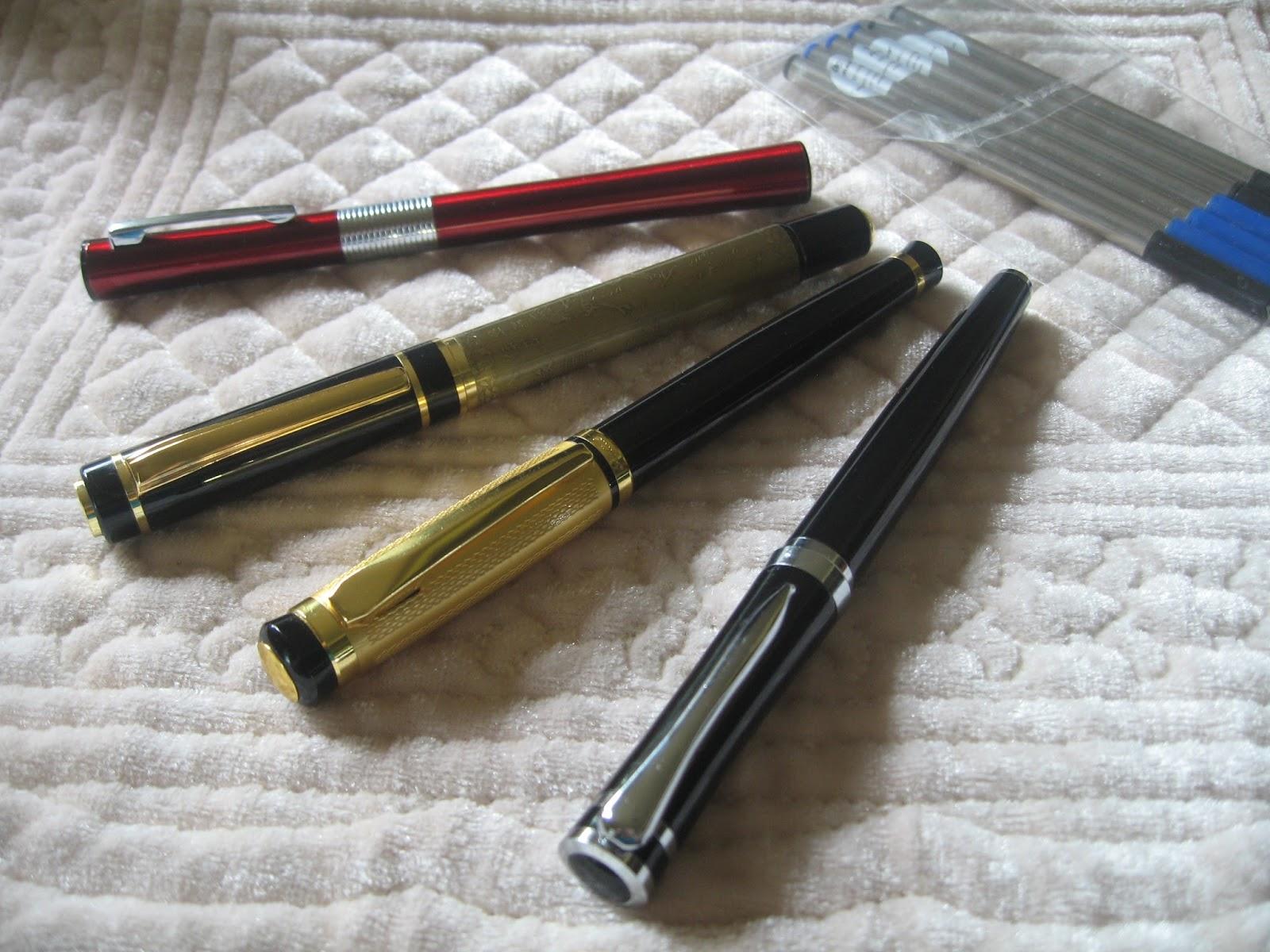 Blurt Blogger Jinhao Baoer Lemi Hero Fountain Pen Rollerball Review Rollarball Diagram A This