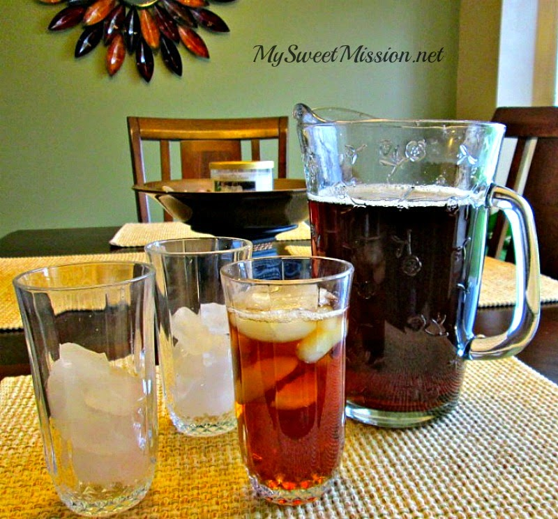 Classic Southern Sweet Tea by MySweetMission.net