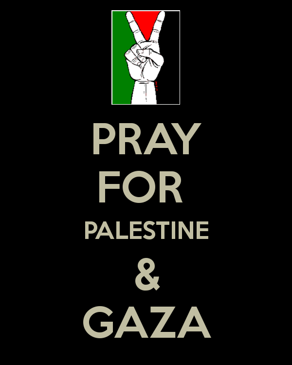 Whoever you are, please pray for GAZA
