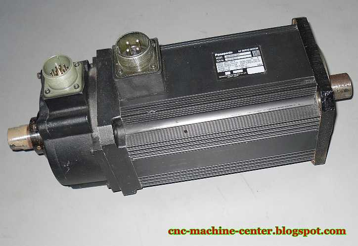 cnc machines panasonic ac servo motor model mkm602d8a1