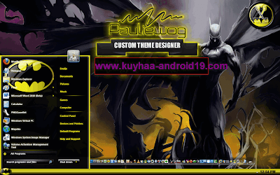 THEME WINDOWS 7 BATMAN