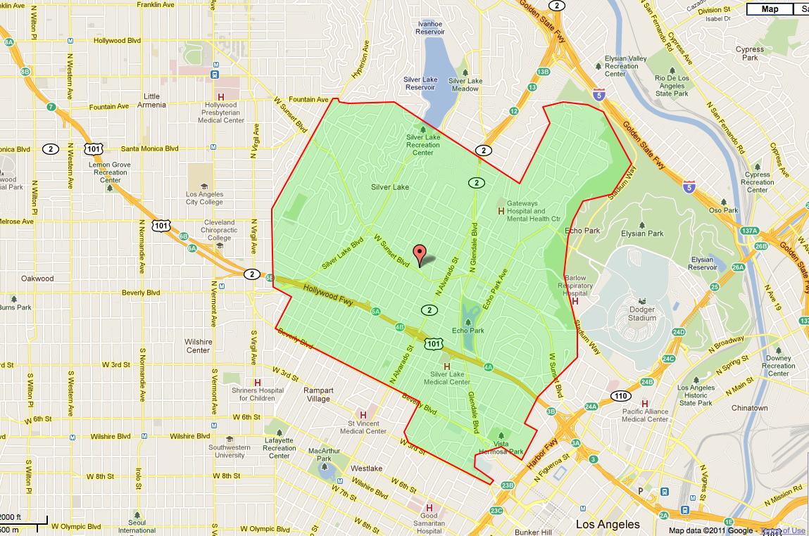 Three Hot Zip Codes Three Multifamily Picks Adner Realty Group - Los angeles map silver lake
