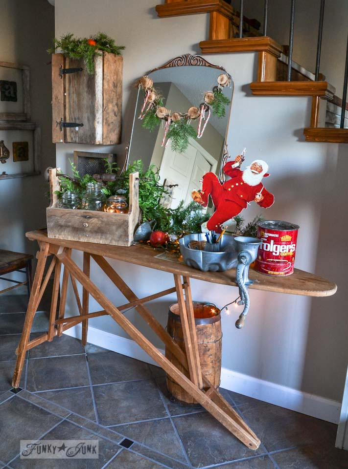 Julie ferguson designs christmas decorating with junk Home decorating ideas using junk