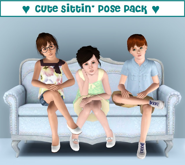 Sims 3 Cute Poses