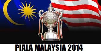 result Piala Malaysia 30 Ogos 2014 Sabtu