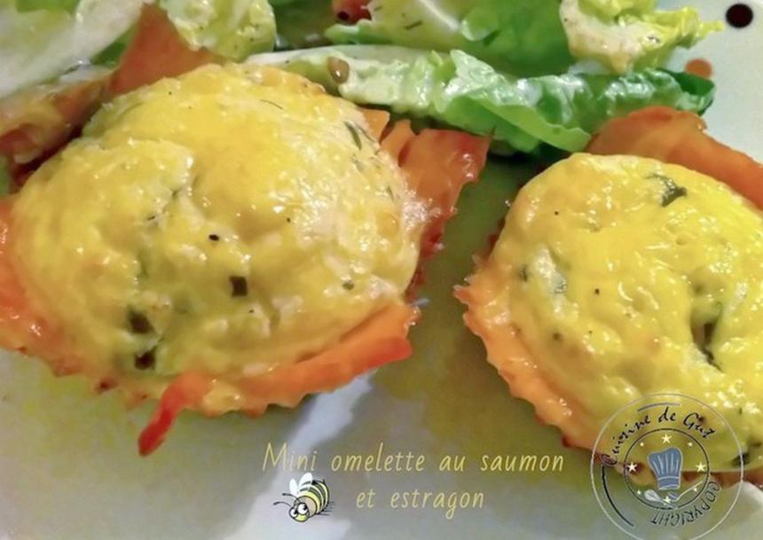 mini omelettes au four