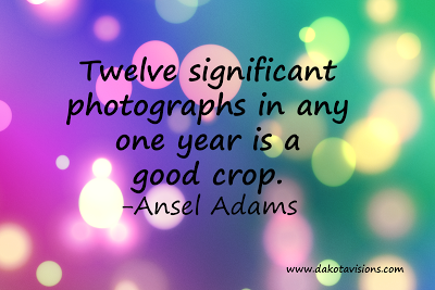 12 Significant Photographs, Photography Quote, Ansel Adams, bokeh background