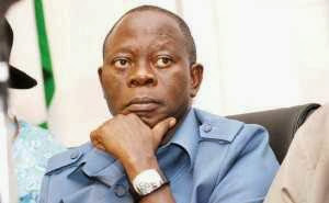 Edo State Governor,  Adams Oshiomole Survives Auto-Crash