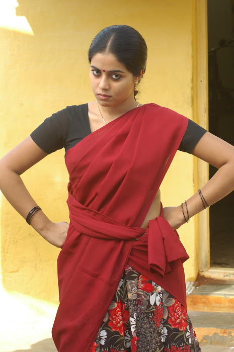 poorna in half saree hot photoshoot