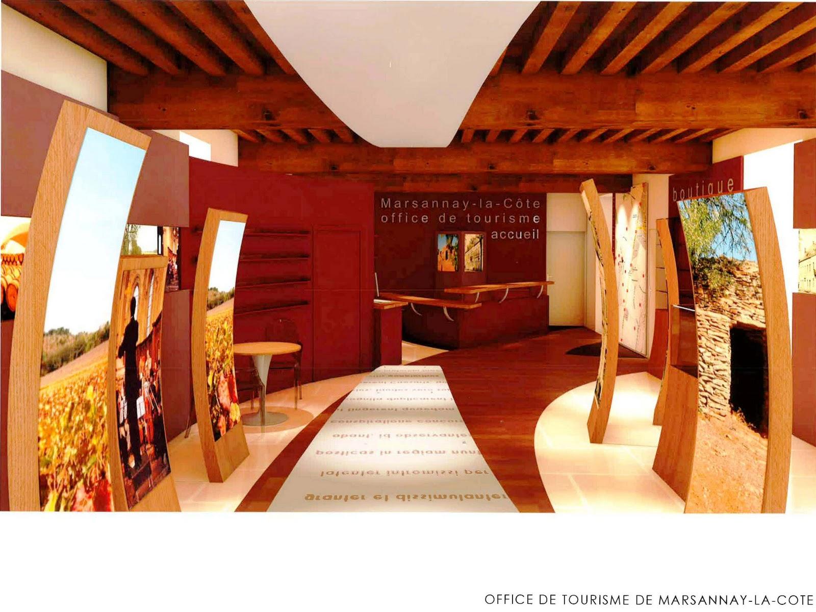 Vivre ensemble marsannay la c te inauguration de l 39 office de tourisme octobre 2011 - Office tourisme cote d or ...