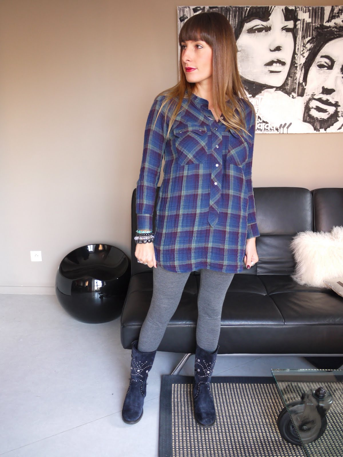 blog mode et beaut lille audressing my plaid. Black Bedroom Furniture Sets. Home Design Ideas