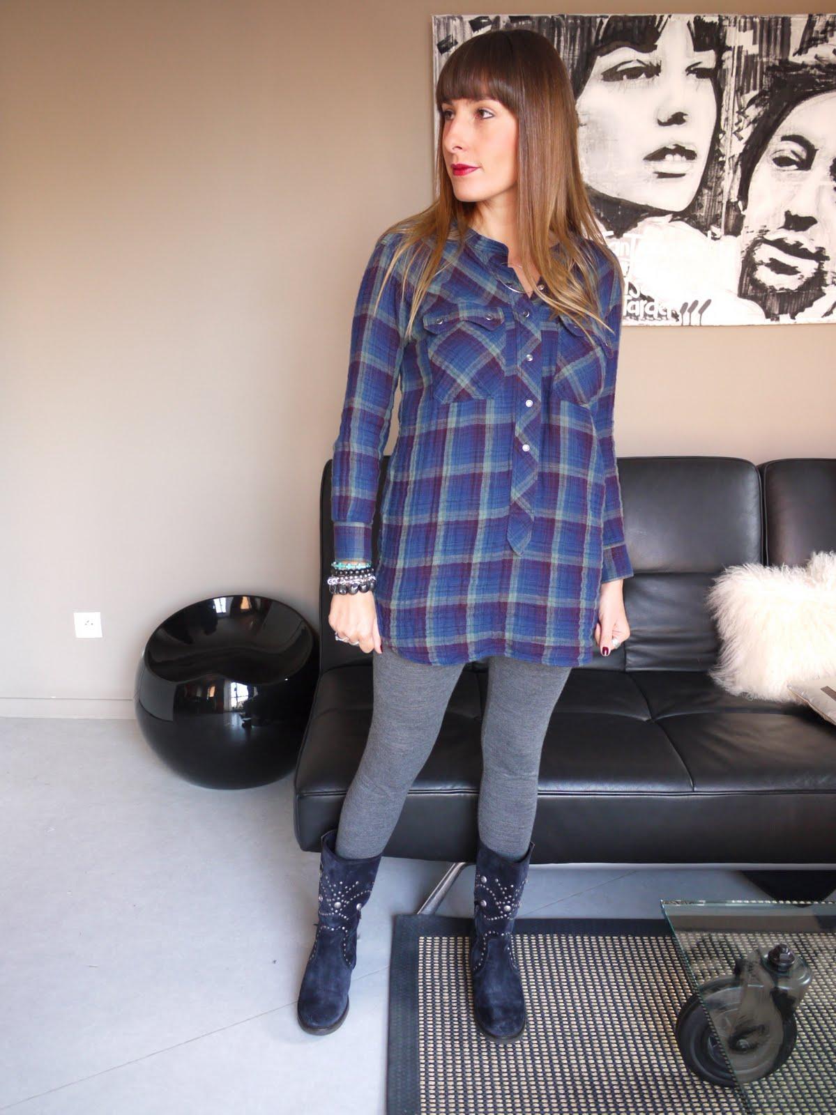 Blog mode et beaut lille audressing my plaid - Plaid grosse maille laine ...