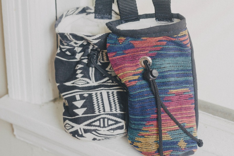 Rock Climbing Chalk Bag Diy