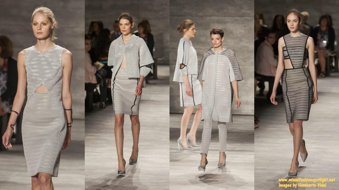 Mercedes-Benz Fashion Week New York: Angel Sanchez's Spring 2015 Collection