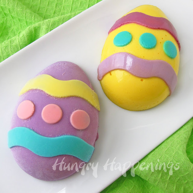 Easter Cheesecakes, Easter egg cheesecakes, Easter recipes
