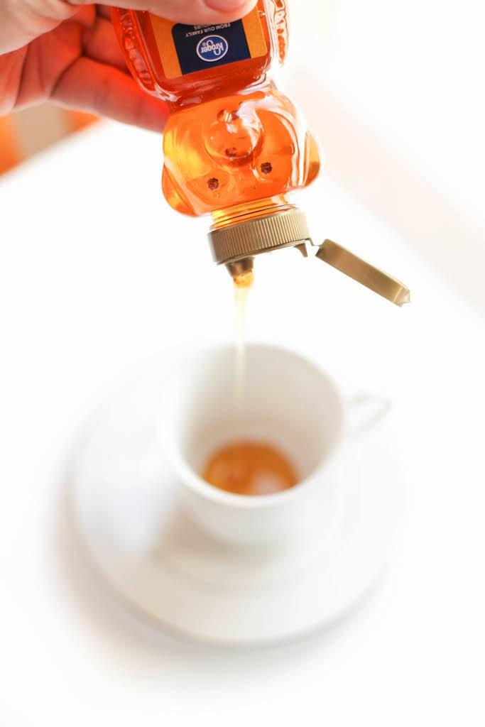 Ginger Tea with Honey & Lemon | via Chandara Creative