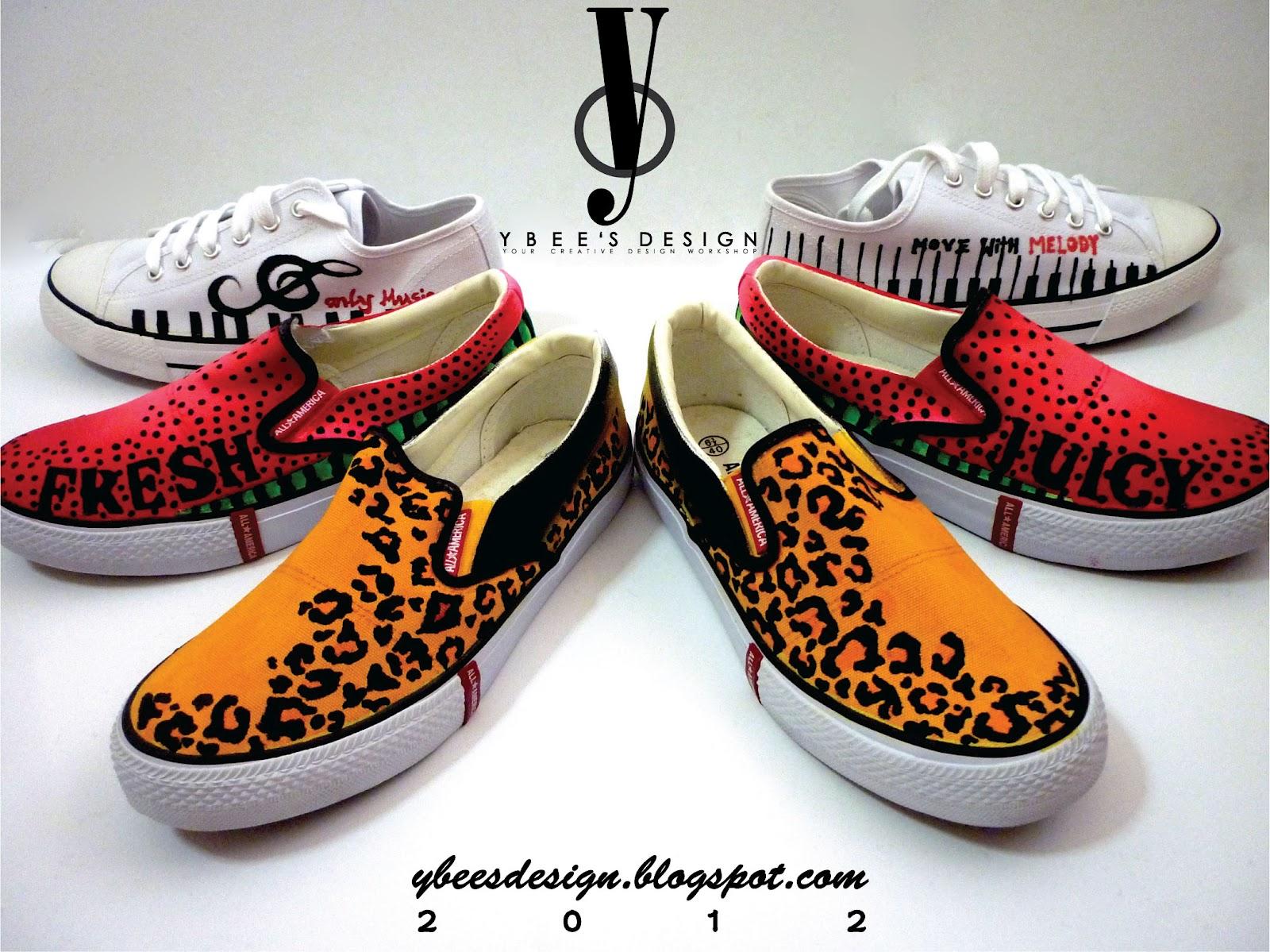 Y b e e 39 s d e s i g n for Diy shoes design