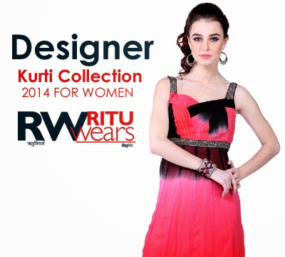 Ritu Wear Kurtis Collection 2014
