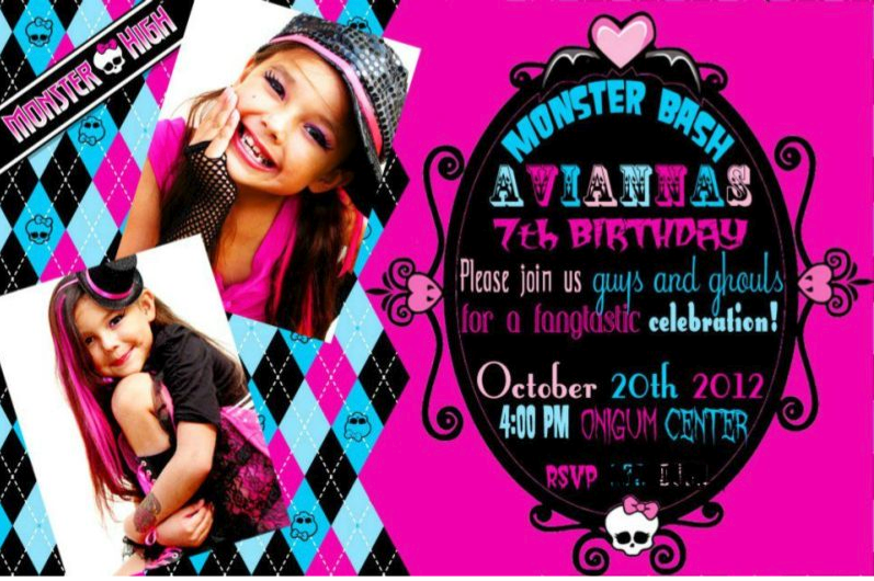 Home confetti monster high birthday party tuesday january 8 2013 filmwisefo
