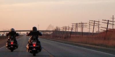 Frío en moto