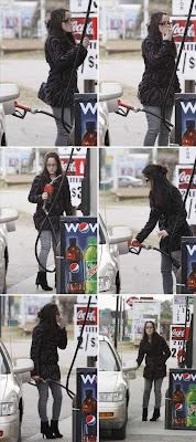 fumar no posto de gasolina