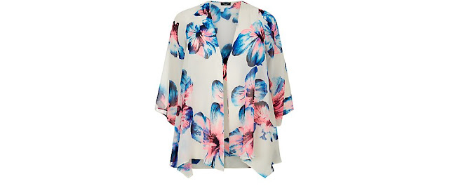 http://www.newlook.com/shop/inspire-plus-sizes/tops/plus-size-neon-pink-and-blue-floral-print-kimono_346405519