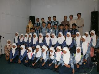 Kunjungan SMP Negeri 1 Pangandaran Kelas Akselerasi di Museum Nyamuk