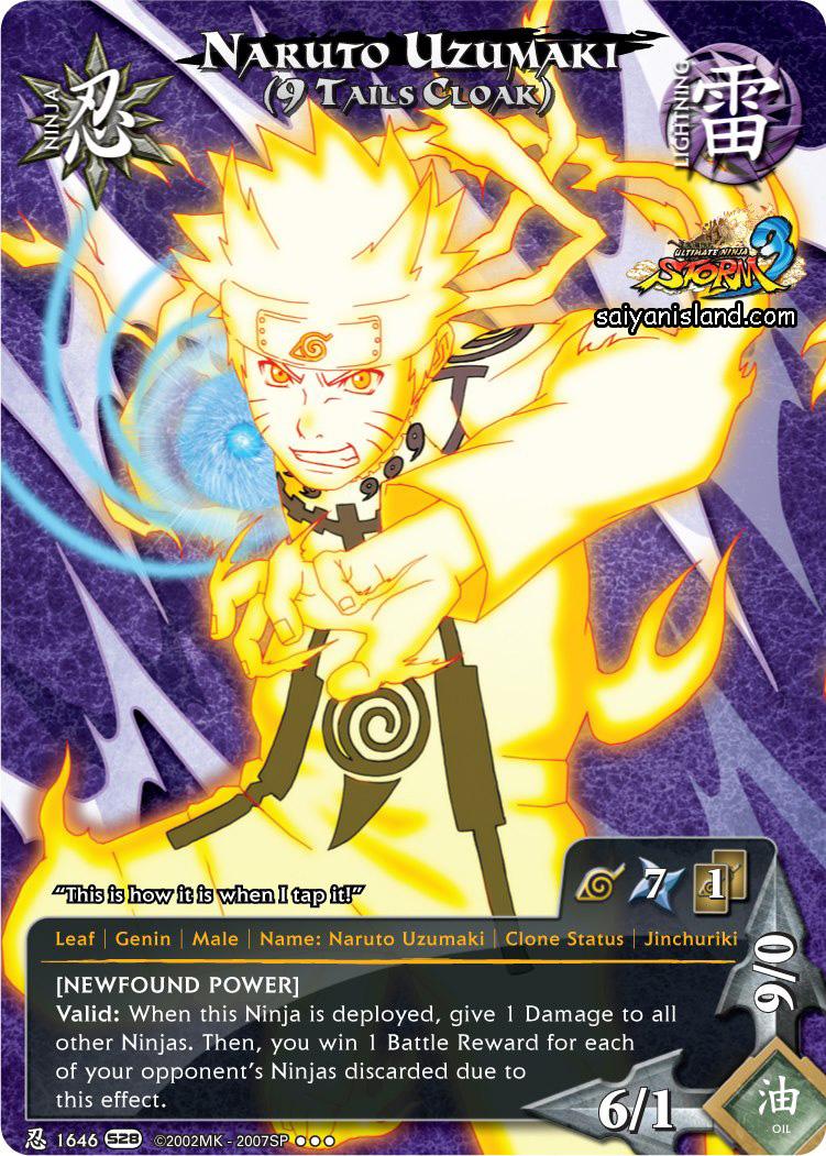 Cartas de Naruto Storm 3 - Netherrealm Games: Cartas de ...