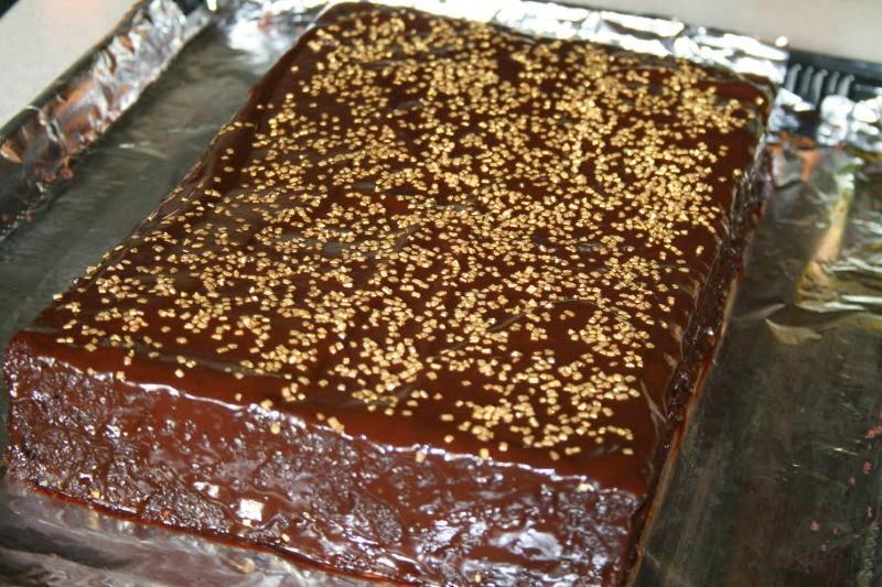 sjokoladekake med kefir og natron
