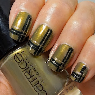 Catrice In the Armee Glow with OPI Live & Let Die and OPI Golden-I