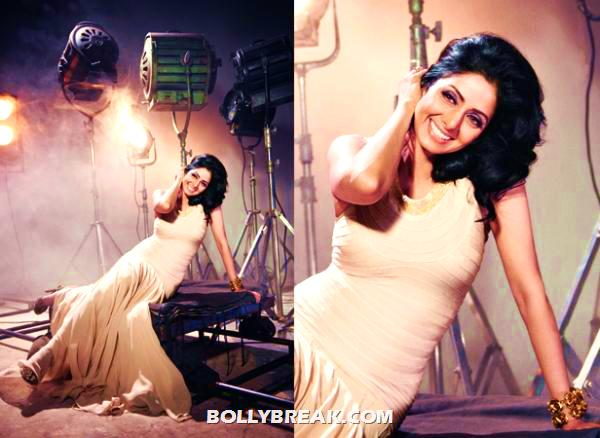 -  Sridevi's Photoshoot for Filmfare