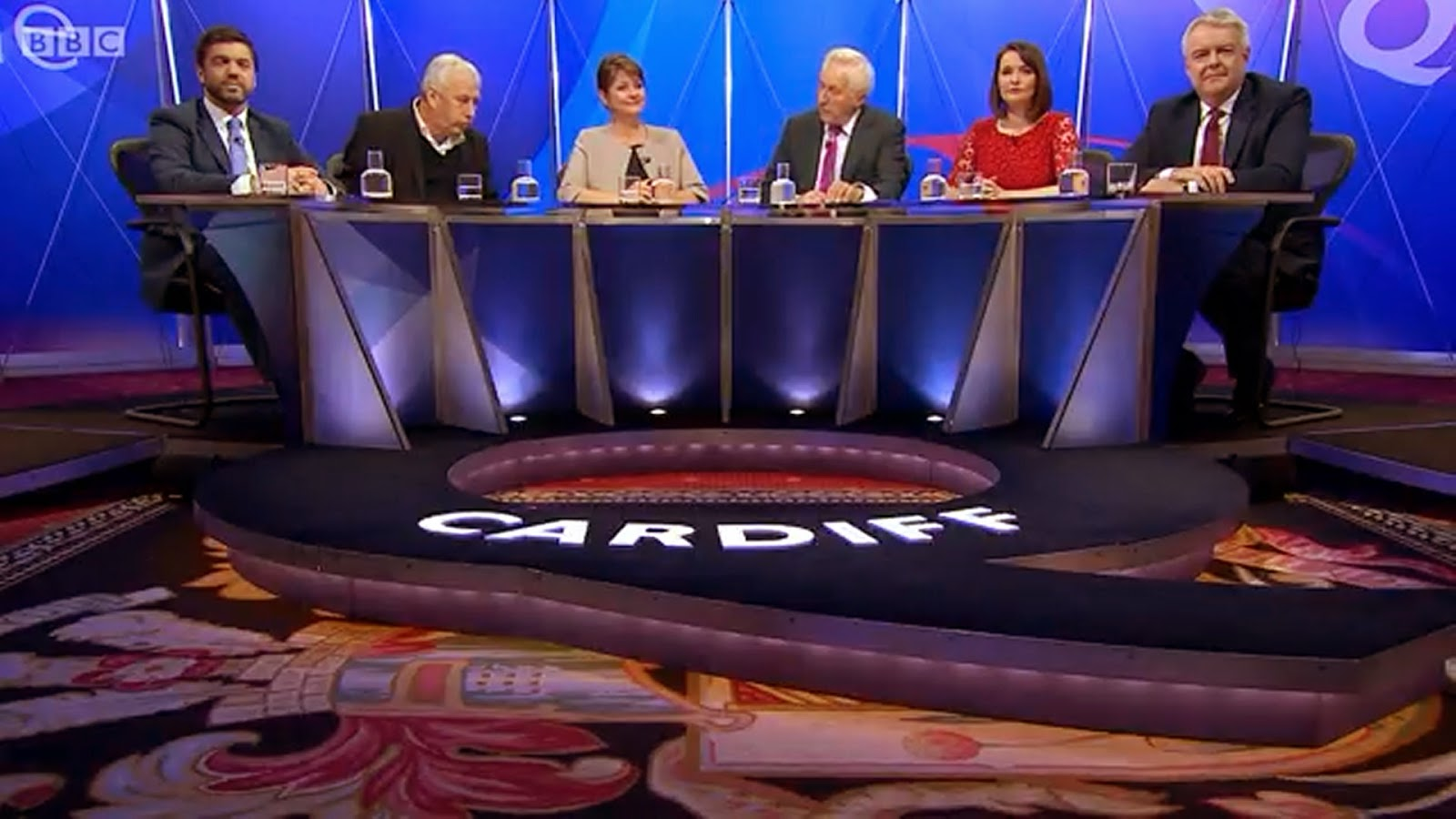 Question Time panel in Cardiff