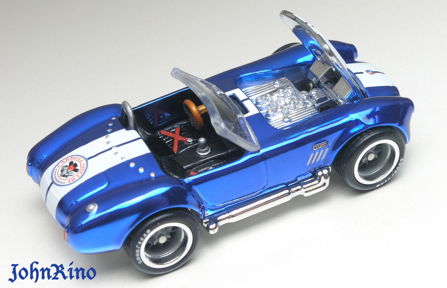 Hot wheels shelby cobra 427 s c 2013 rlc