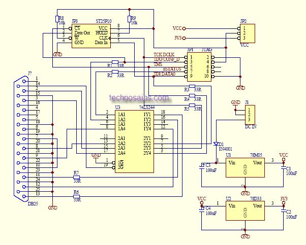 Программатор микросхем своими руками