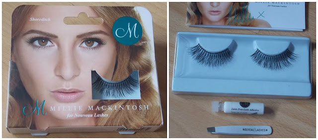 Millie Mackintosh Made in Chelsea Star Lashes for Nouveau Beauty