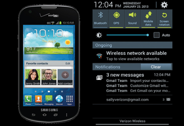Samsung Galaxy Stellar Receives Android 4.1 Jelly Bean Update