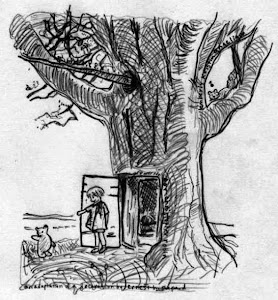 ...drawings for christopher robin...