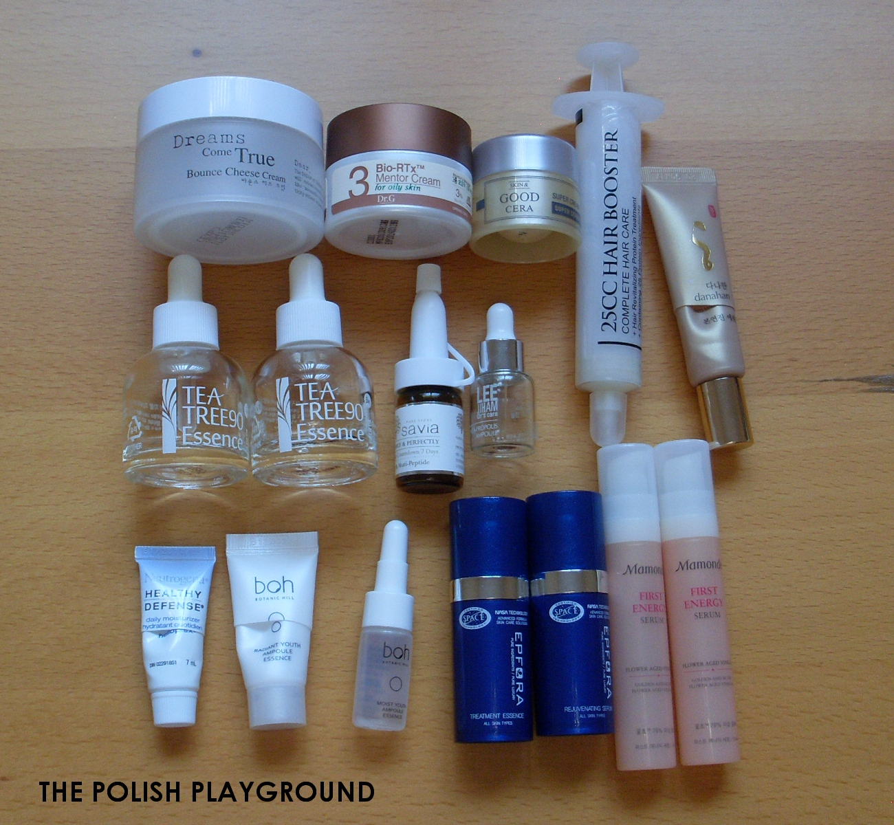 Collective September Product Empties