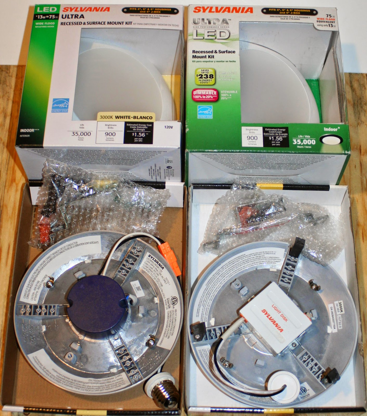 Energy Conservation How To Review Sylvania 70732 LED Disk Light