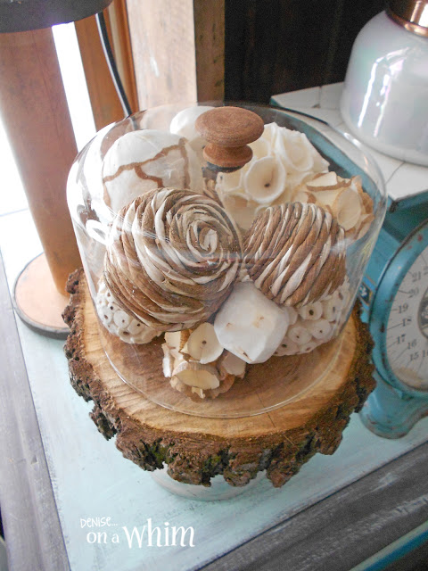 Thrift Store Find Turned Pretty Cloche | Denise on a Whim