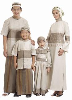 Trend Model Busana Muslim Lebaran 2014