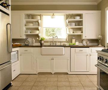 Decorating Idea Small Kitchen Cabinets