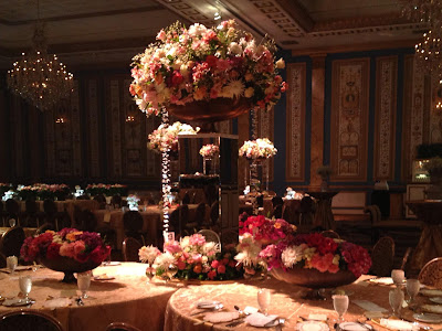 Floral Design at AIFD Leadership Gala - with Accent Decor
