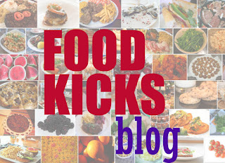 food kicks blog logo carolyn m walker