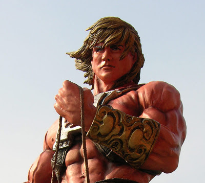 He-man on Battlecat Statue - by SiMo Sol