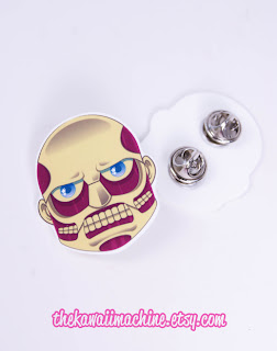 Attack on Titan Colossal Titan Acrylic Pin