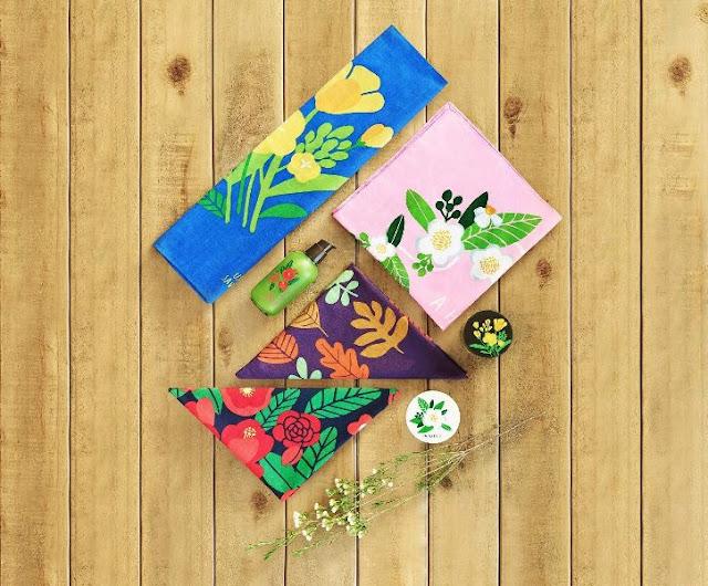 Use a Hankie, Save The Earth, innisfree, innisfree malaysia, korean skincare, jeju island, handkerchief