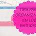Estudios: 3 Tips para organizarse